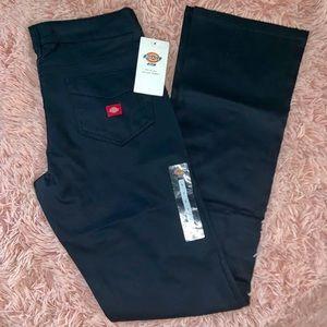 Dickies Girl Navy Bootcut Pants size 7